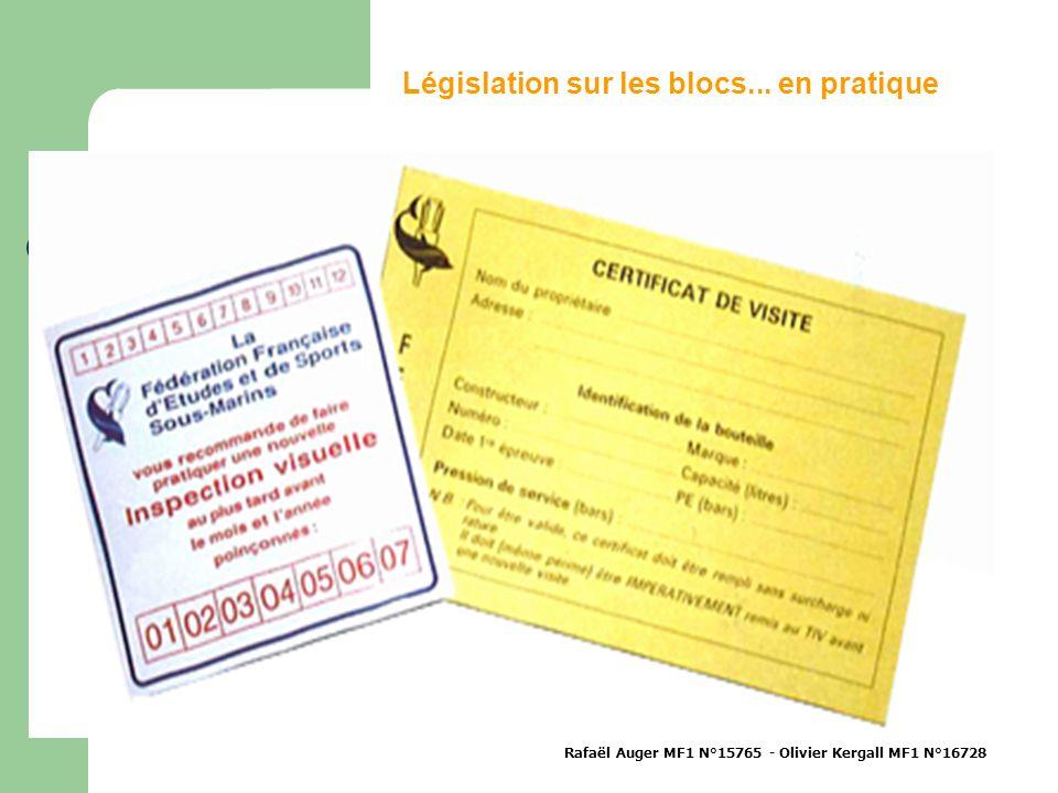Législation sur les blocs... en pratique