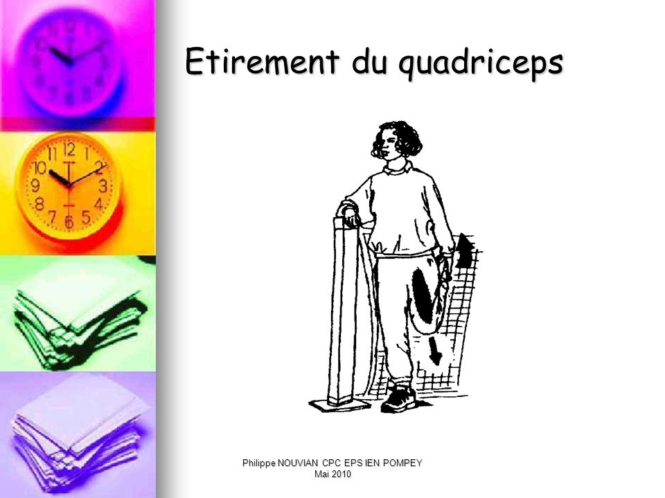 Etirement du quadriceps