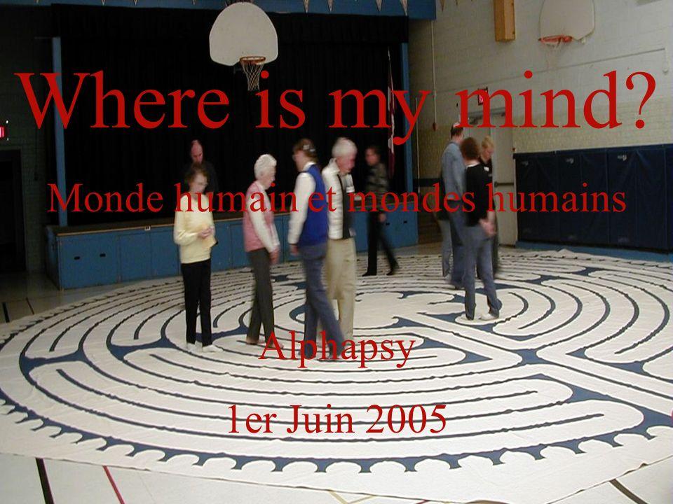 Monde humain et mondes humains