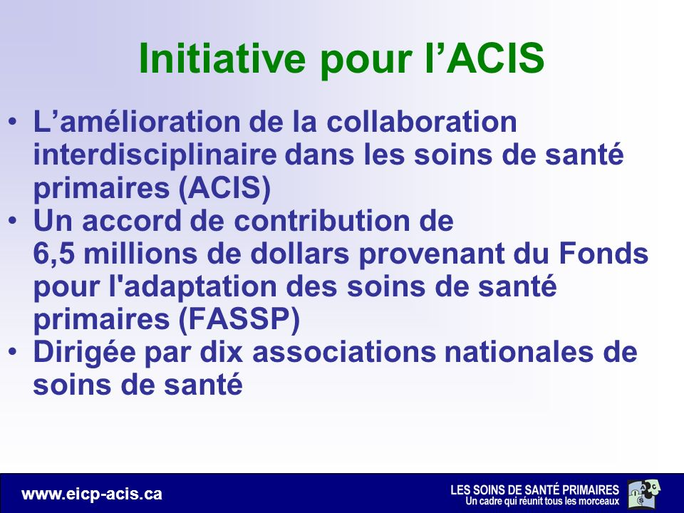 Initiative pour l'ACIS