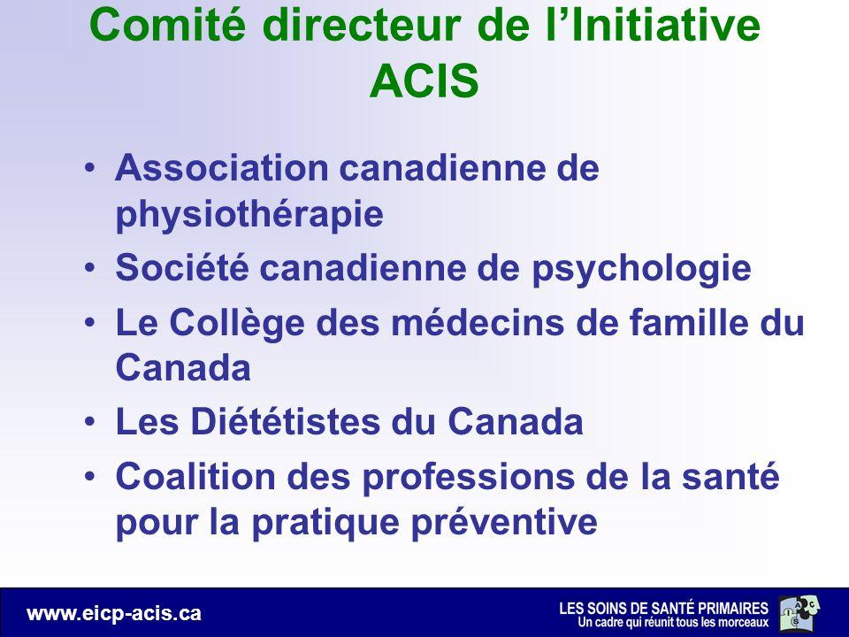 Comité directeur de l'Initiative ACIS