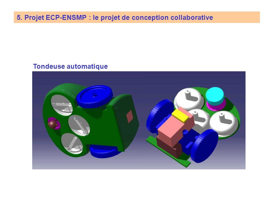 5. Projet ECP-ENSMP : le projet de conception collaborative