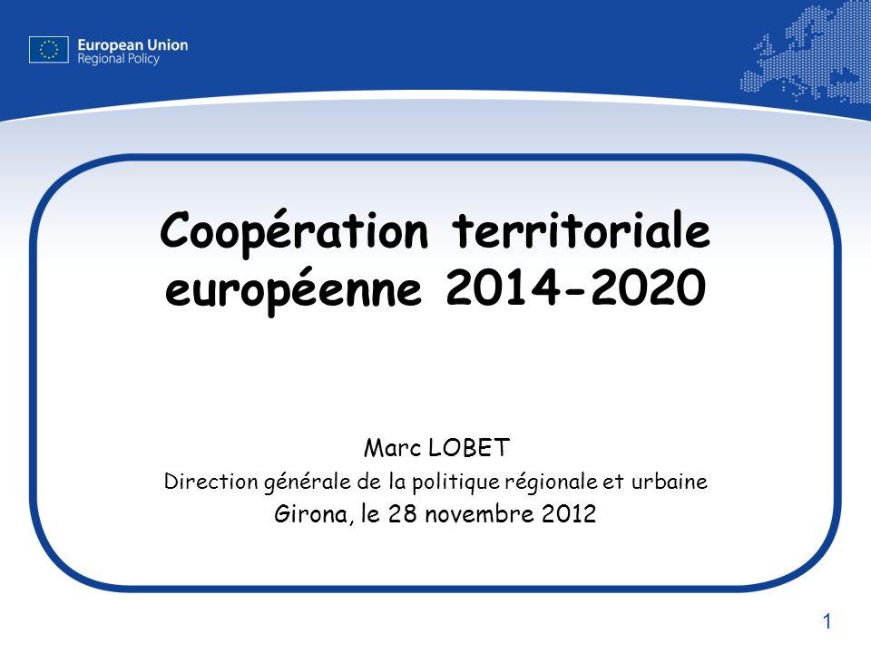 Coopération territoriale européenne 2014-2020