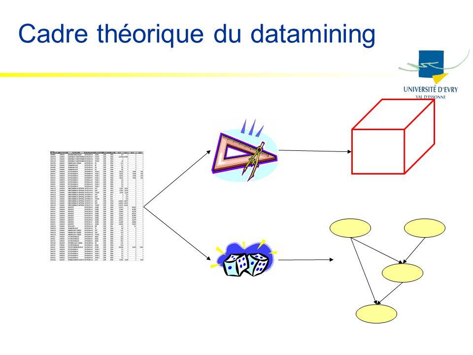 Cadre théorique du datamining