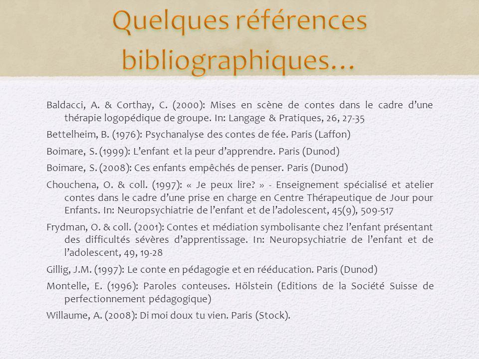 Quelques références bibliographiques…