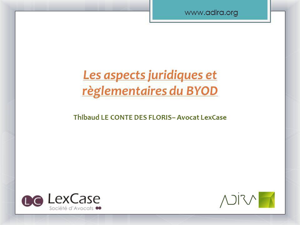 Les aspects juridiques et règlementaires du BYOD
