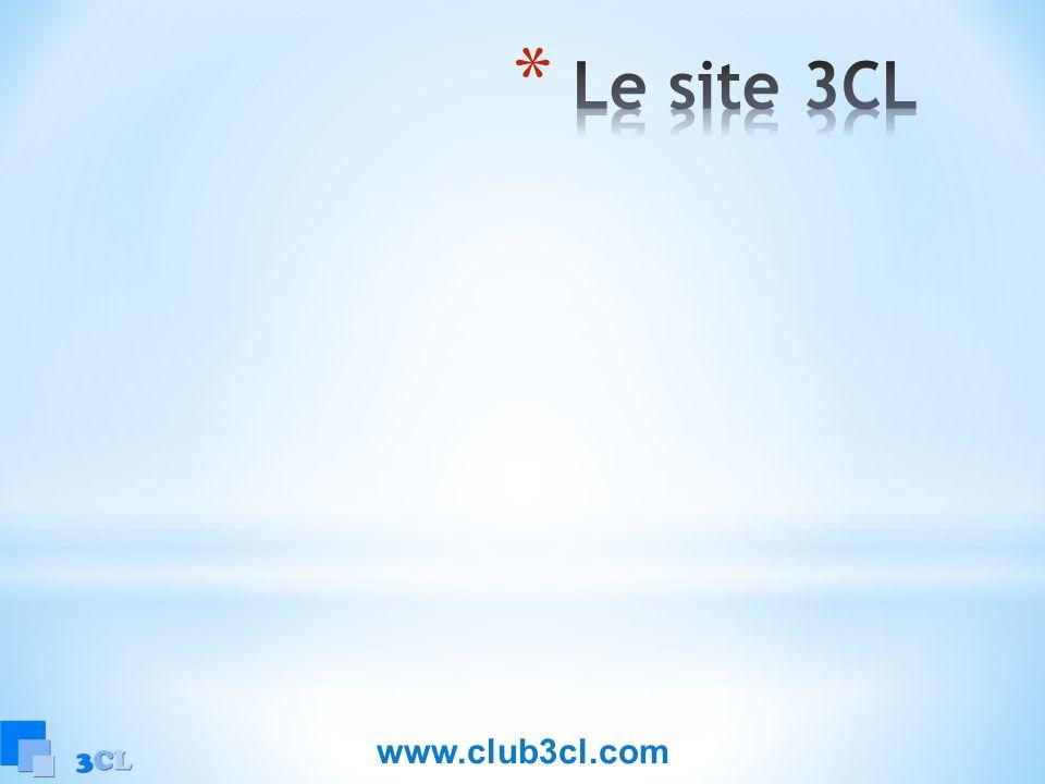Le site 3CL www.club3cl.com