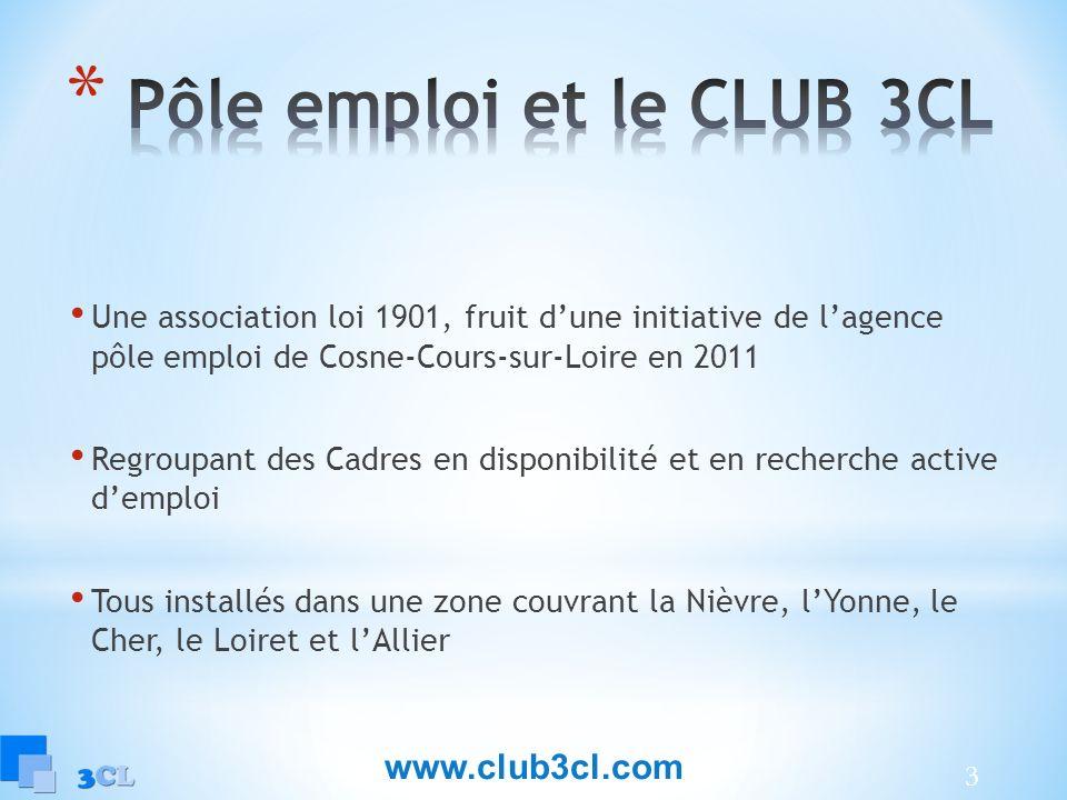 Pôle emploi et le CLUB 3CL