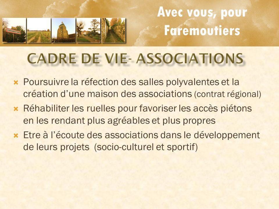 CADRE DE VIE- associations