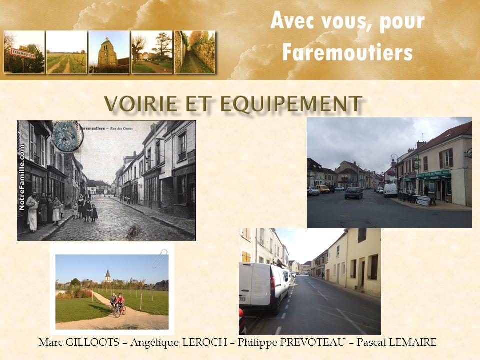 Marc GILLOOTS – Angélique LEROCH – Philippe PREVOTEAU – Pascal LEMAIRE