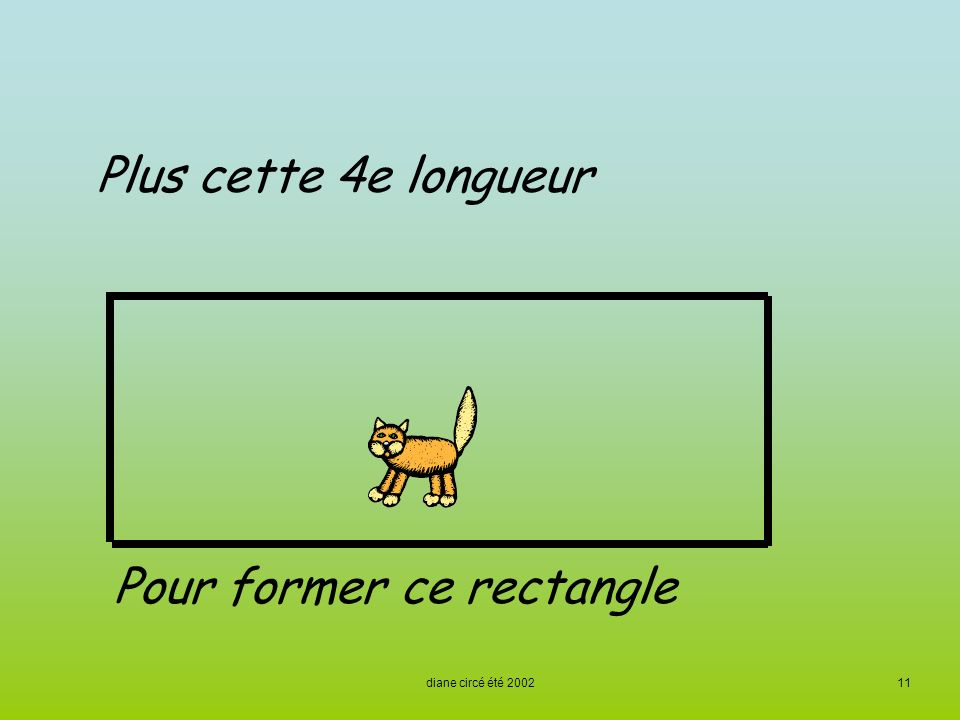 Pour former ce rectangle