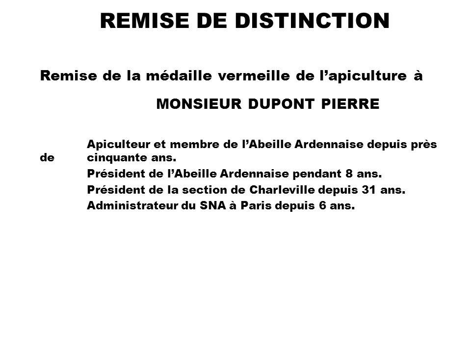 MONSIEUR DUPONT PIERRE
