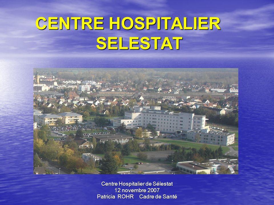 CENTRE HOSPITALIER SELESTAT