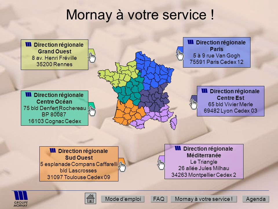 Mornay à votre service ! Direction régionale Grand Ouest
