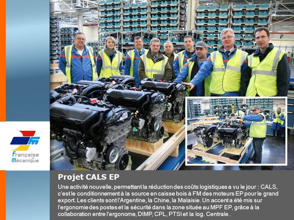 Projet CALS EP