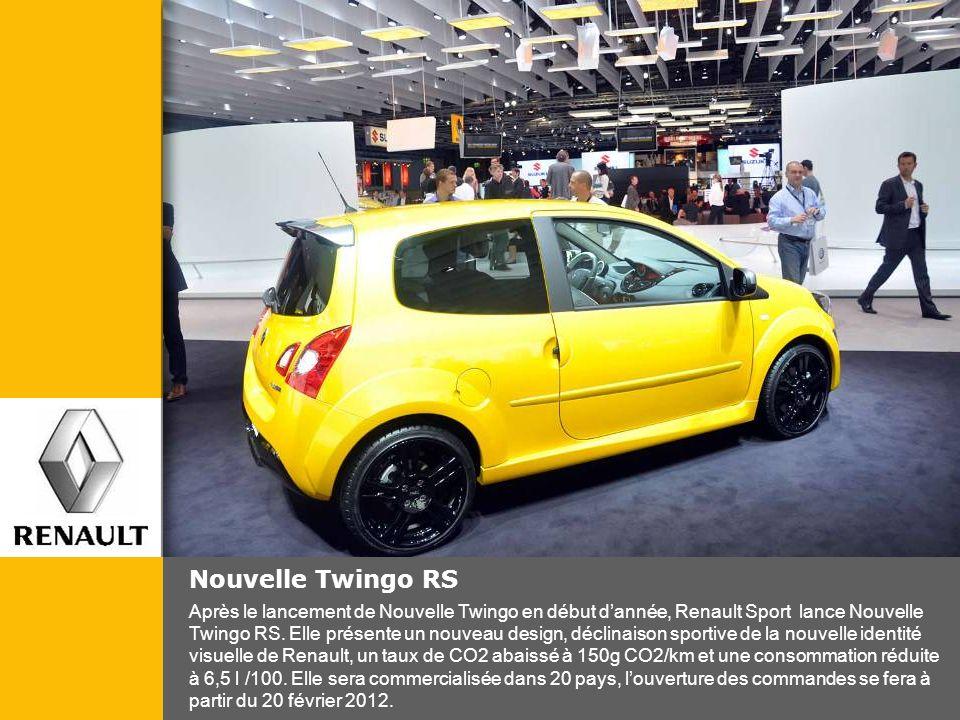 Nouvelle Twingo RS