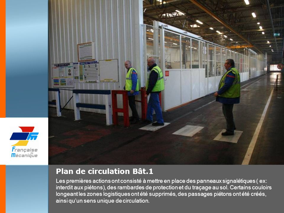 Plan de circulation Bât.1