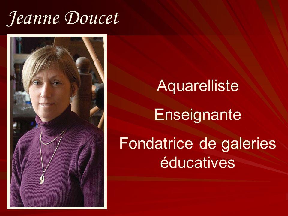 Fondatrice de galeries éducatives