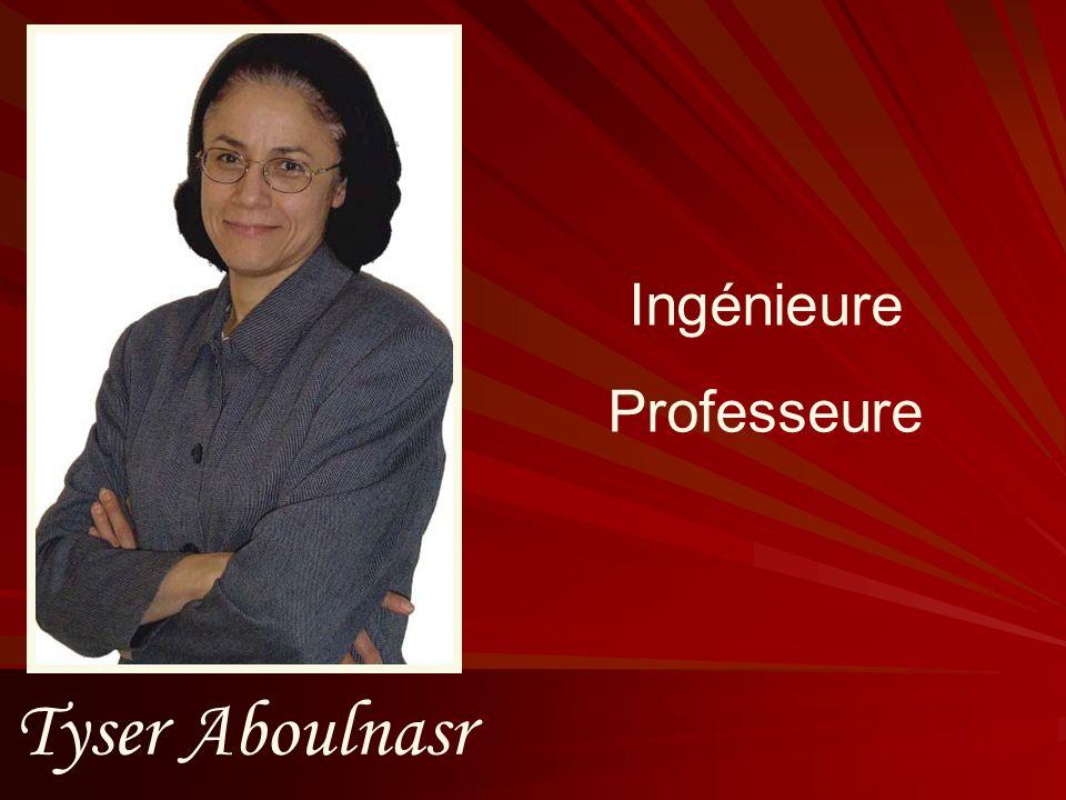 Ingénieure Professeure Tyser Aboulnasr