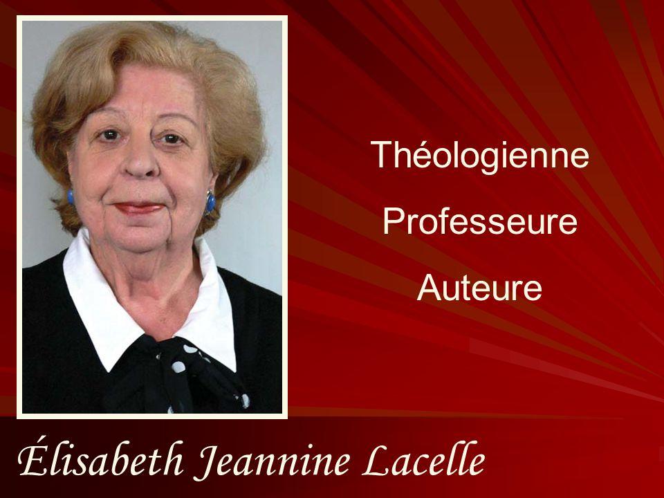 Élisabeth Jeannine Lacelle