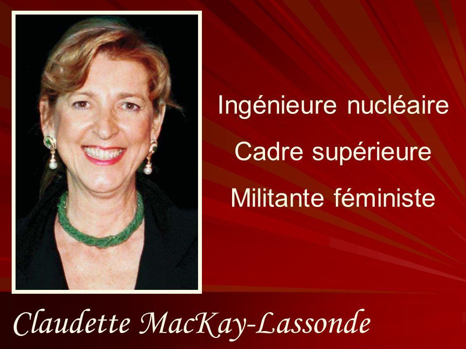Claudette MacKay-Lassonde