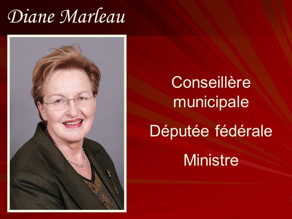 Conseillère municipale