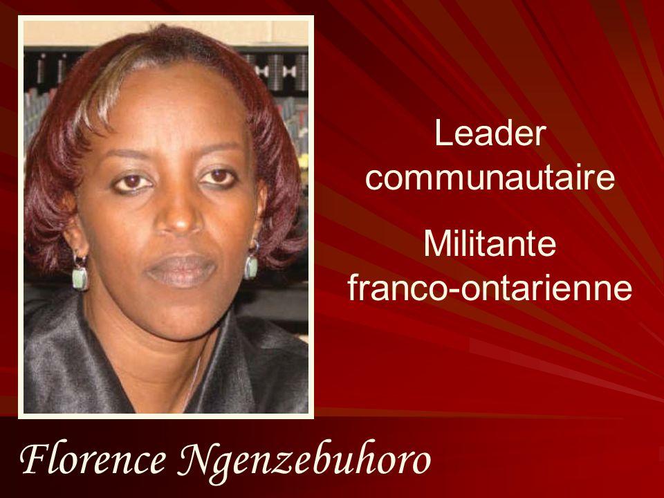 Florence Ngenzebuhoro