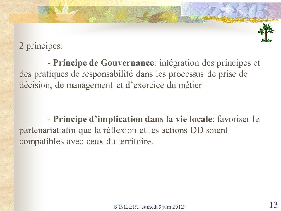 2 principes: