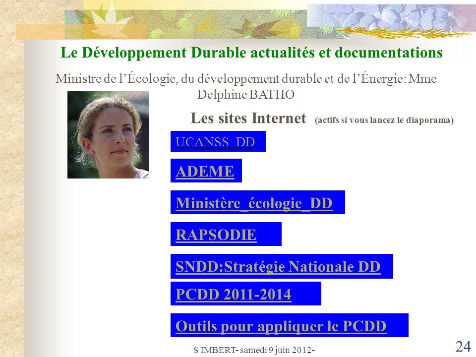Le Développement Durable actualités et documentations