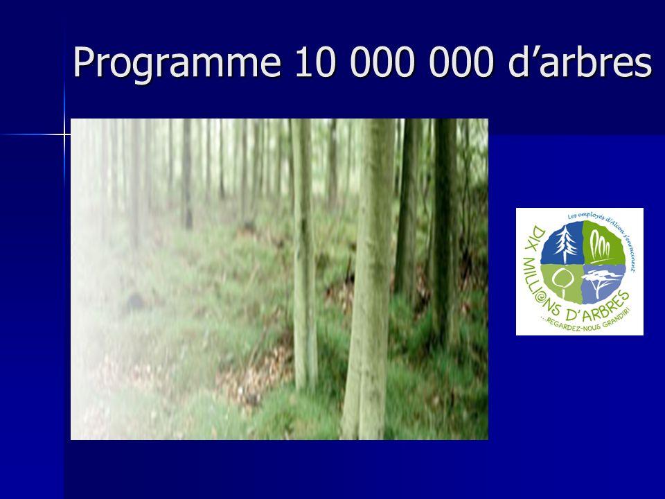 Programme 10 000 000 d'arbres