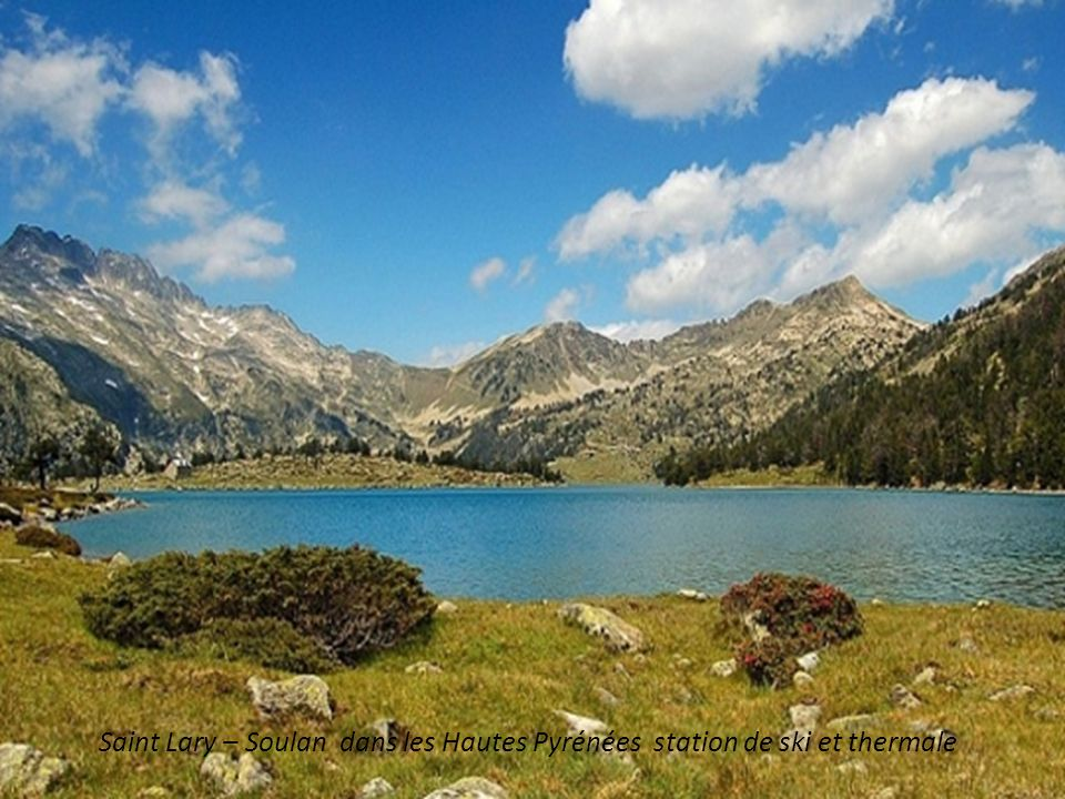 Saint Lary – Soulan dans les Hautes Pyrénées station de ski et thermale