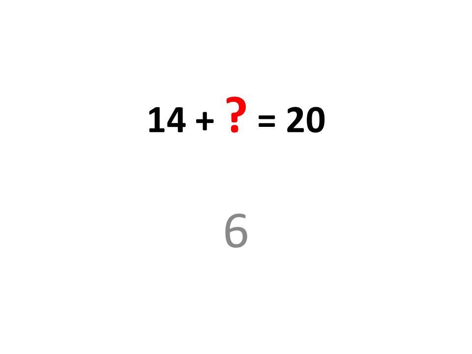 24/08/12 14 + = 20 6