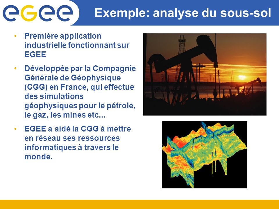 Exemple: analyse du sous-sol