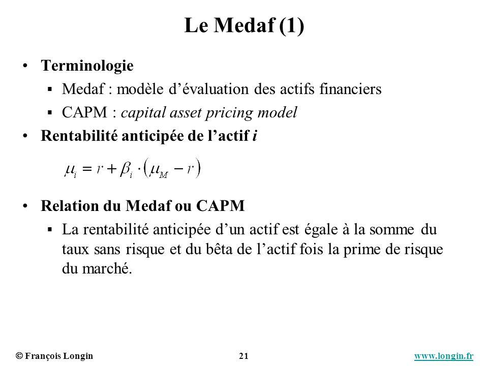 Le Medaf (1) Terminologie