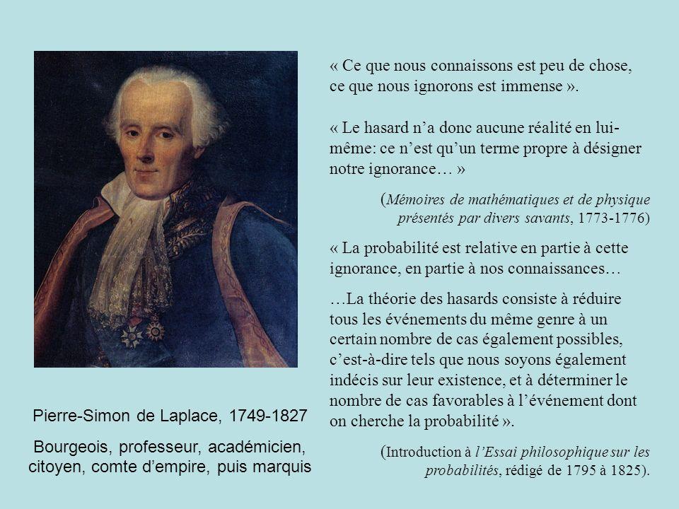 Pierre-Simon de Laplace, 1749-1827
