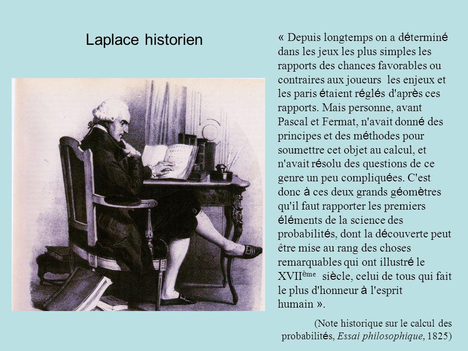 Laplace historien