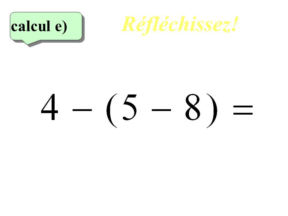 Réfléchissez! calcul e) 5eme calcul 12