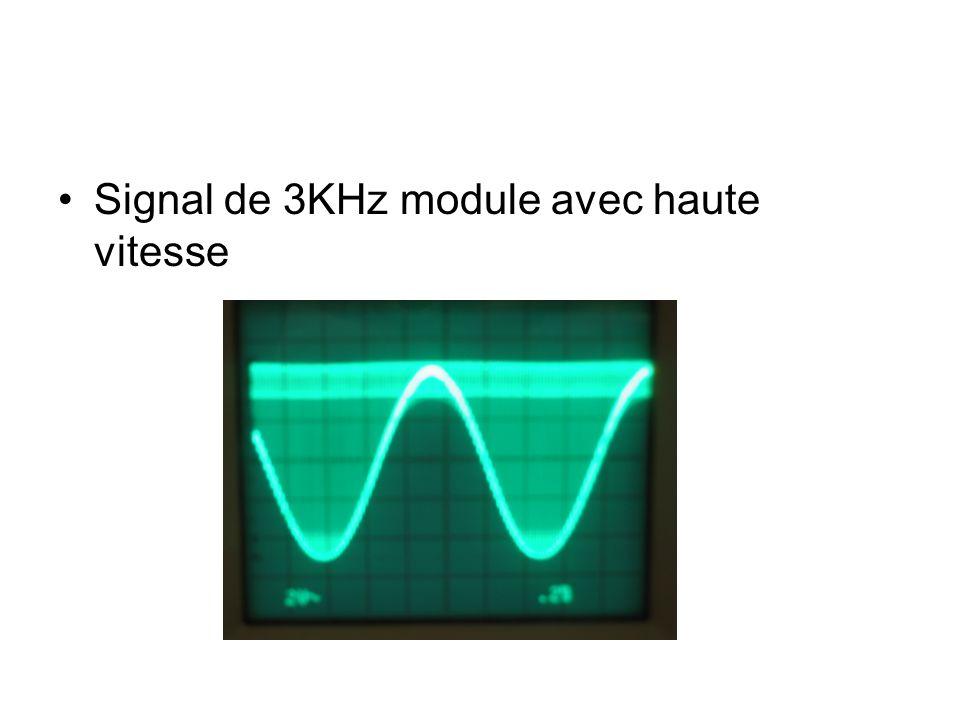 Signal de 3KHz module avec haute vitesse