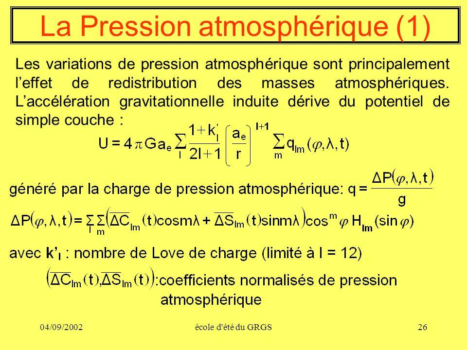 La Pression atmosphérique (1)