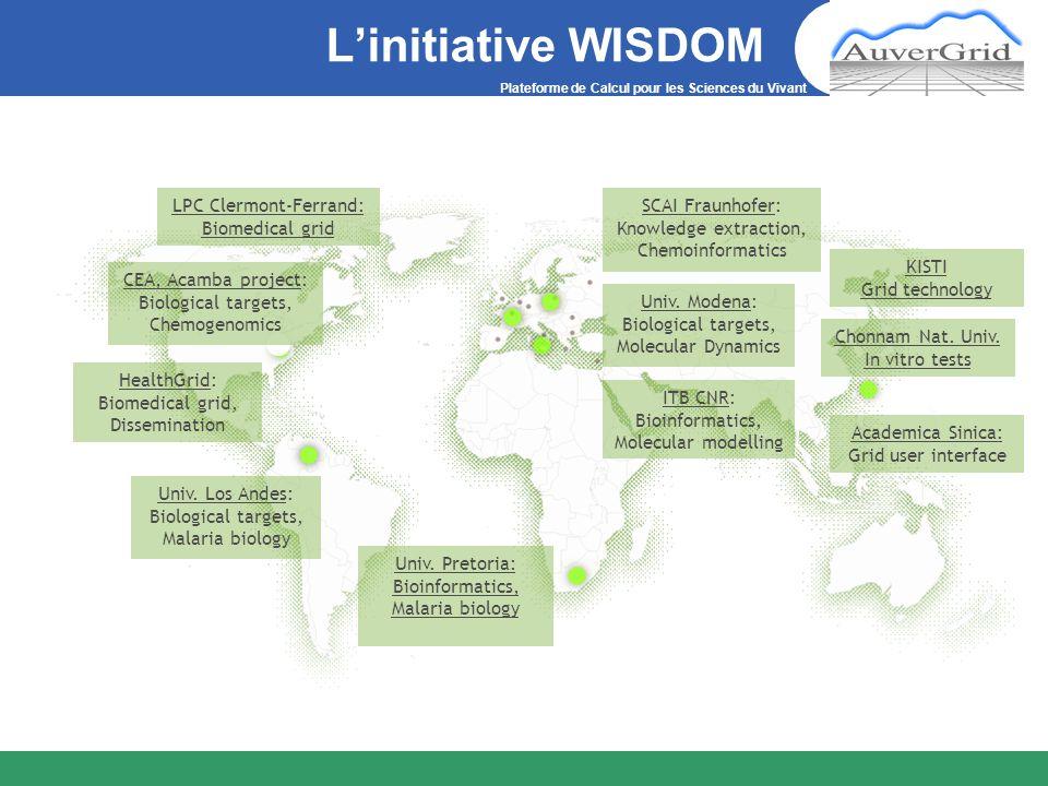 L'initiative WISDOM LPC Clermont-Ferrand: Biomedical grid