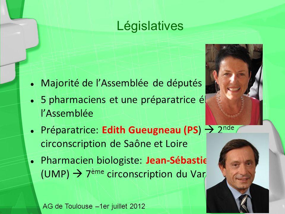 Législatives Majorité de l'Assemblée de députés sont du PS