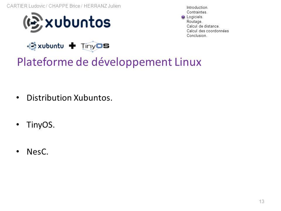 Plateforme de développement Linux
