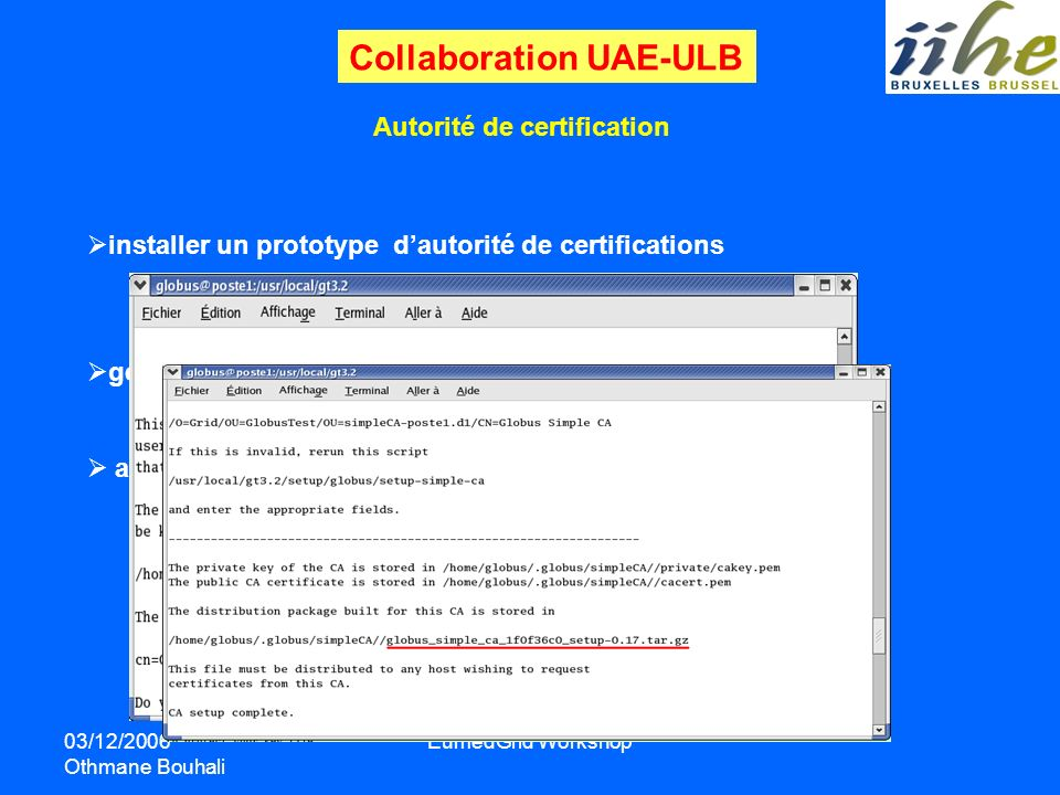 Collaboration UAE-ULB