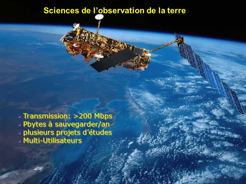 Sciences de l'observation de la terre
