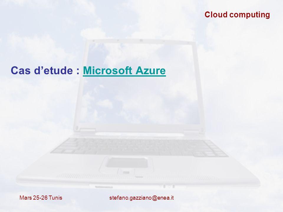 Cas d'etude : Microsoft Azure