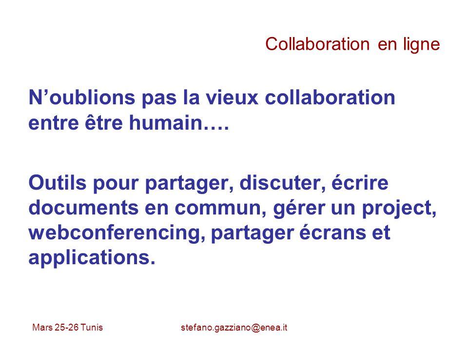 Collaboration en ligne