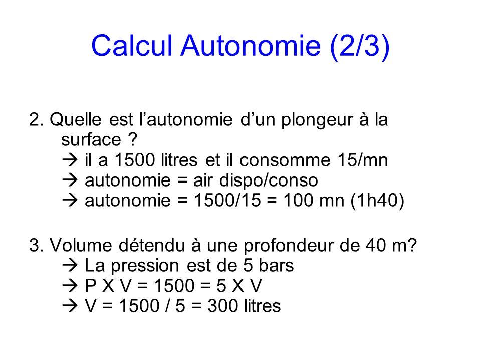 Calcul Autonomie (2/3)