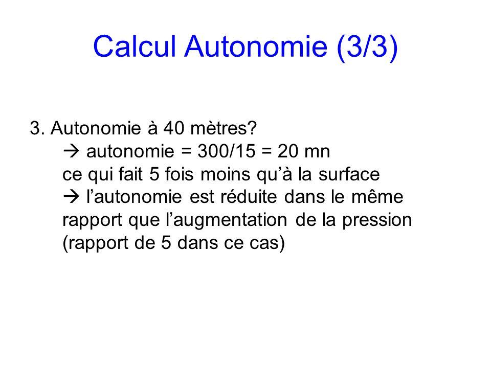Calcul Autonomie (3/3)