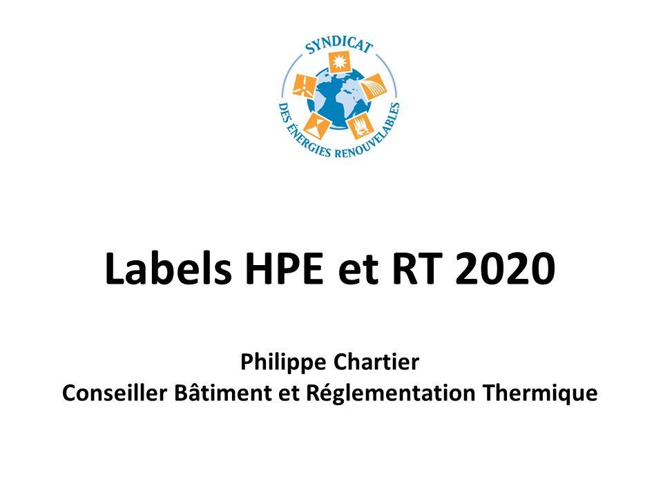 Philippe Chartier Conseiller Bâtiment et Réglementation Thermique