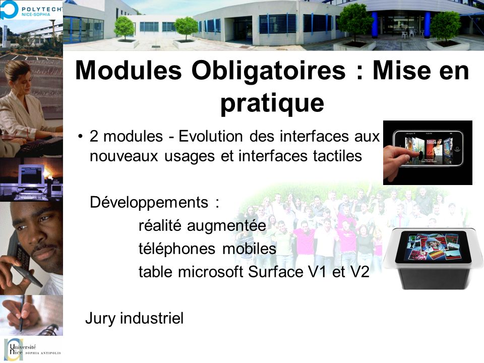 Modules Obligatoires : Mise en pratique